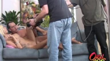 BIG TIT BLONDE MORGAN LAYNE GET FUCKED BY BIG COCK-BTS