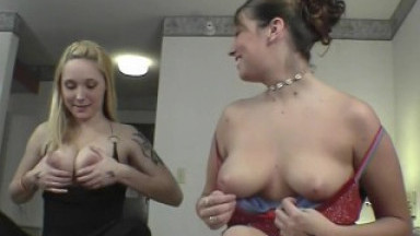 rachel and bri iowa college girls doing their first and only porn interview