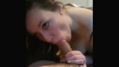 Teen Sucking pokes hard and taking pleasure in the mouth