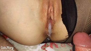 CUM INSIDE ME!!! FILL MY PUSSY OF CREAM - CUTEMARY CREAMPIE COMPILATION