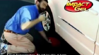 Billy Mays shows off his favorite toy )