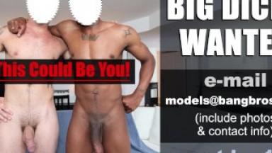 BIG COCKS WANTED! - BigDaddy.com Is Hiring Male Pornstars. Cum Work For Us