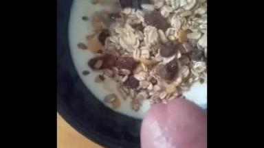 Tuto how to make a yummy cum breakfast