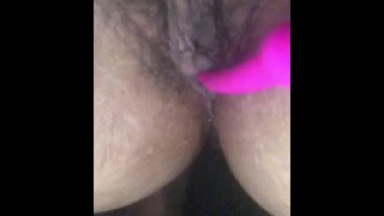 Lush toy and anal hook fun