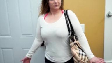 Big boobs amateur sucks dick and masturbates well
