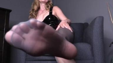 Sissy's Electric Release - Chastity Orgasm Control Femdom POV Trailer