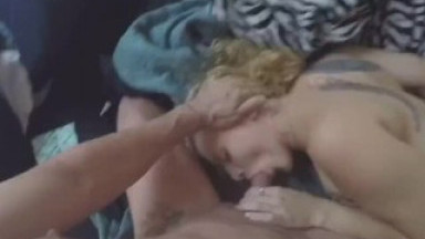 Babygirl Swallowing Daddy's Big Cock