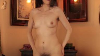 LivRoyale: Hot, Hairy, Sensual Striptease w/ All Natural Woman